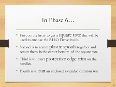 Let's Build the S.H.O. Drive! - Slide 145 of 176.png